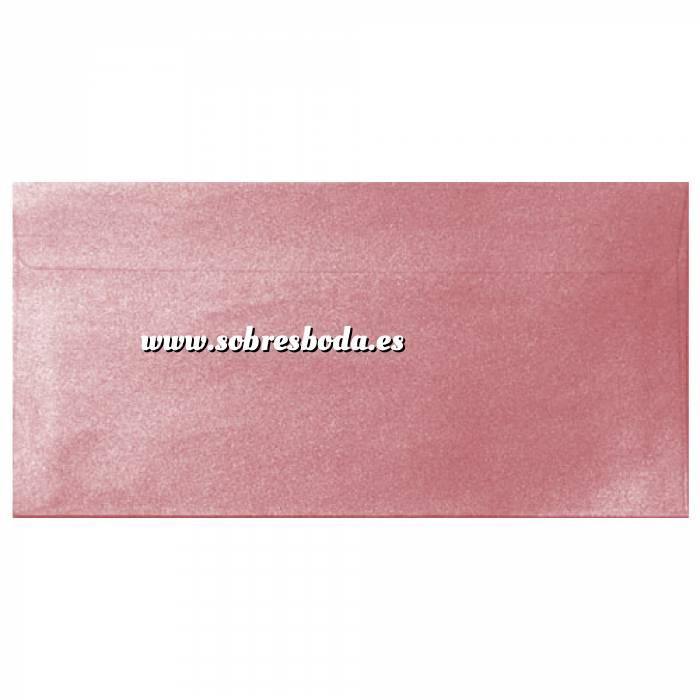Imagen Sobre Americano DL 110x220 Sobre Perlado rosa DL (Rosa Bebé)