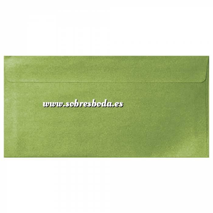 Imagen Sobre Americano DL 110x220 Sobre Perlado verde DL (Verde Lima)