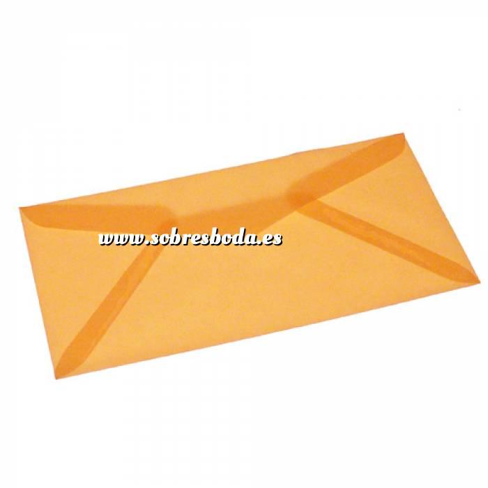 Imagen Sobre Americano DL 110x220 Sobre Vegetal Naranja