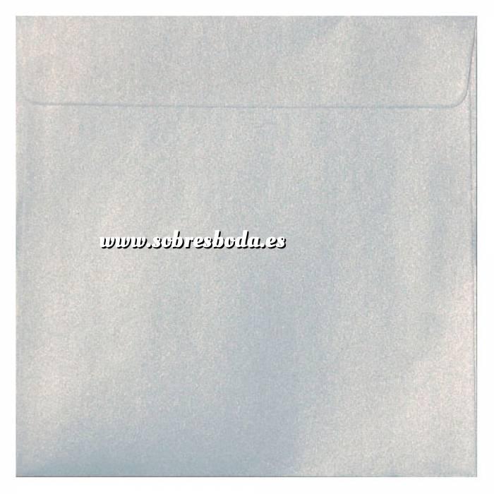 Imagen Sobres Cuadrados Sobre Perlado Blanco Cuadrado