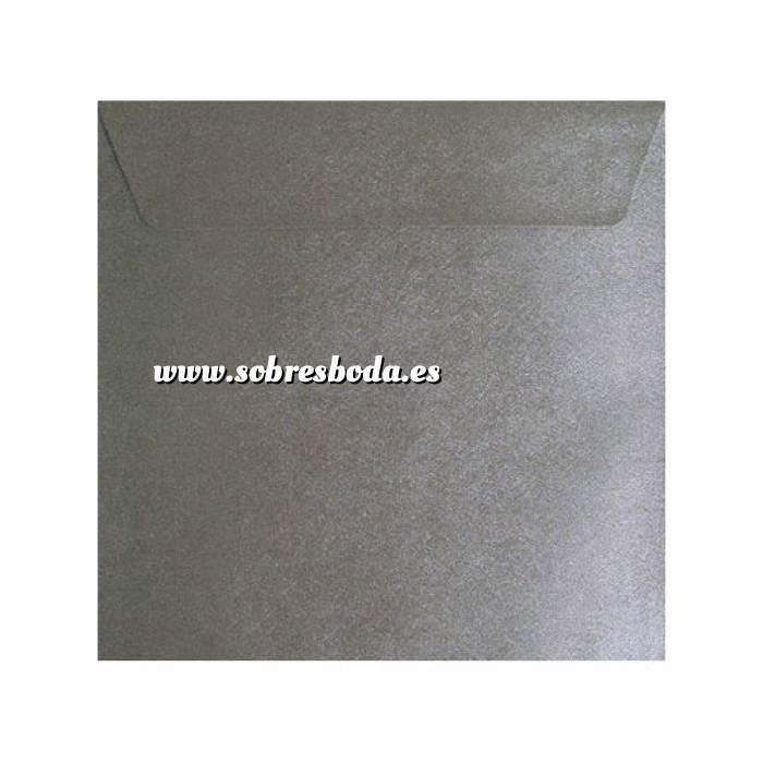 Imagen Sobres Cuadrados Sobre textura plata Cuadrado