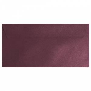 Sobre Americano DL 110x220 - Sobre textura rojo DL - Vino Burdeos