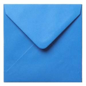Sobres Cuadrados - Sobre azul Cuadrado