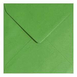 Sobres Cuadrados - Sobre verde Cuadrado - Verde Helecho